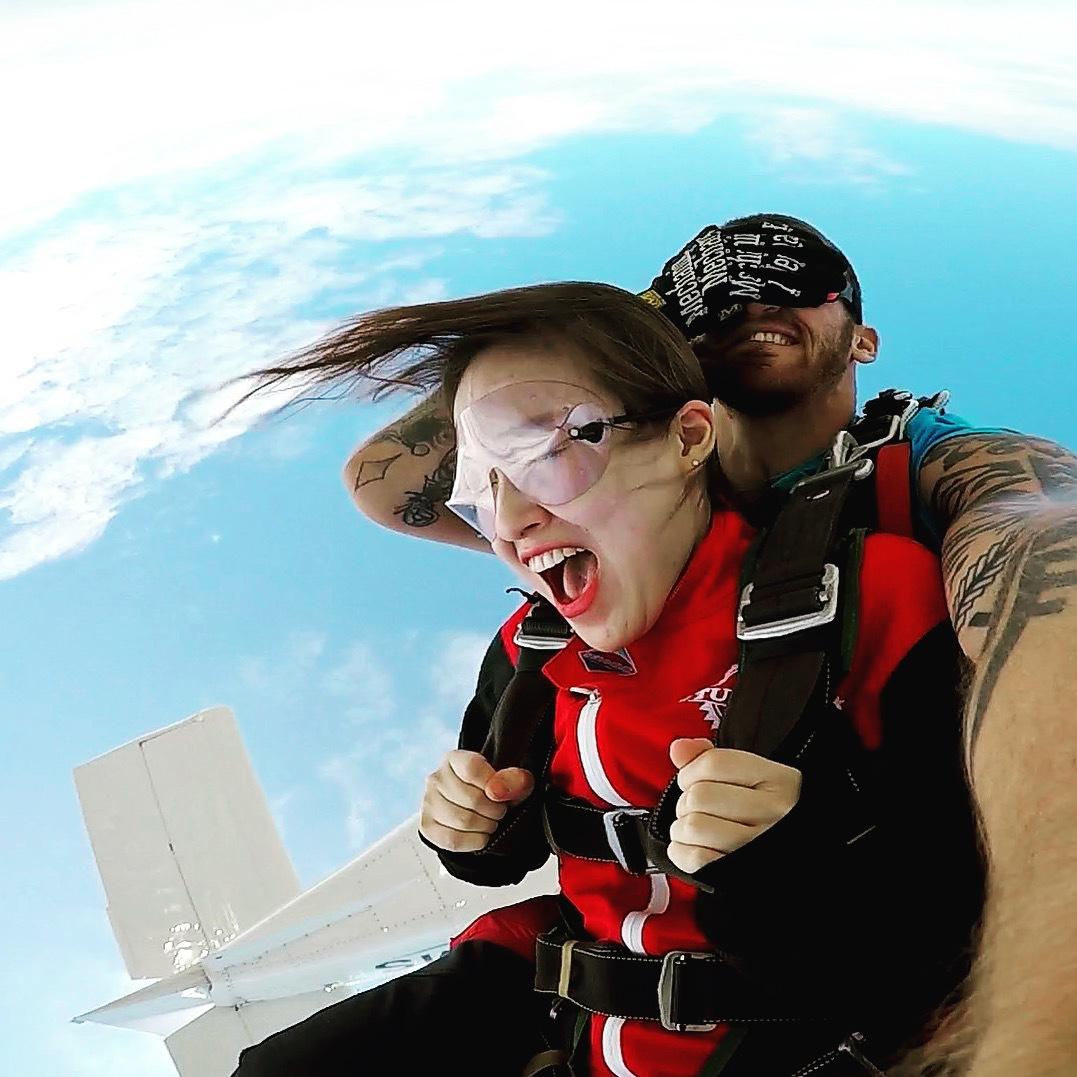 Let's skydive