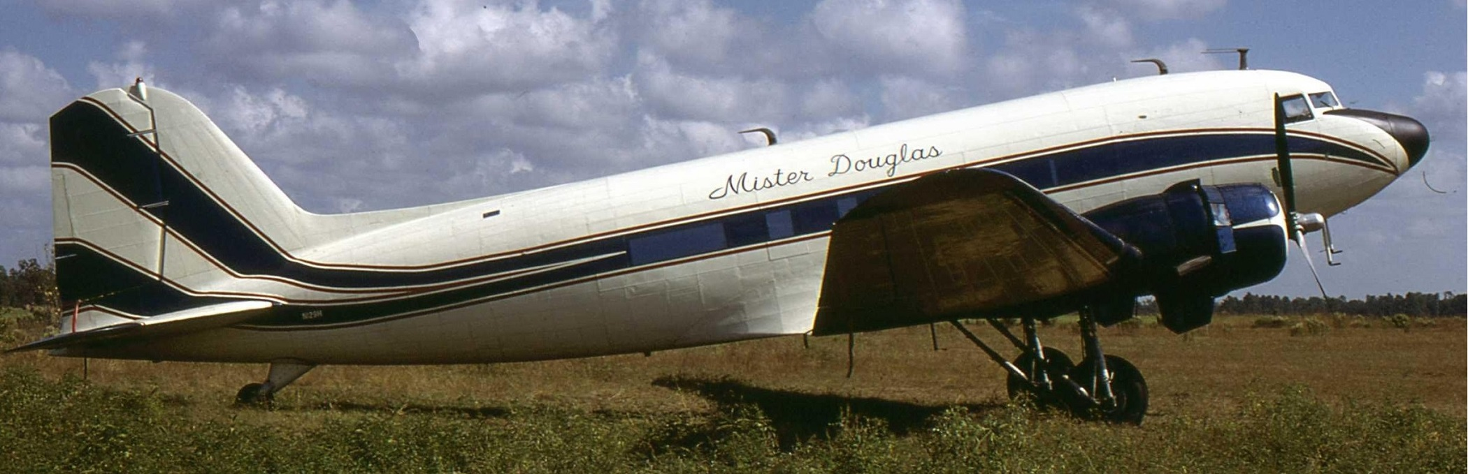 "The famed DC-3 ""Mister Douglas""."