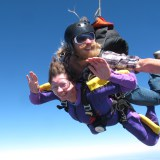 Janie's First Tandem Skydive