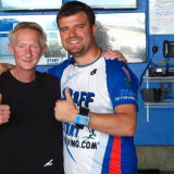 With Matt Harvey at Start skydiving.