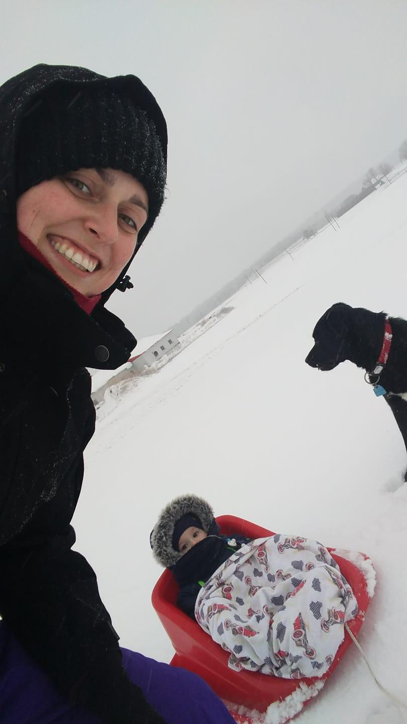 skydiving mother in snow.jpg