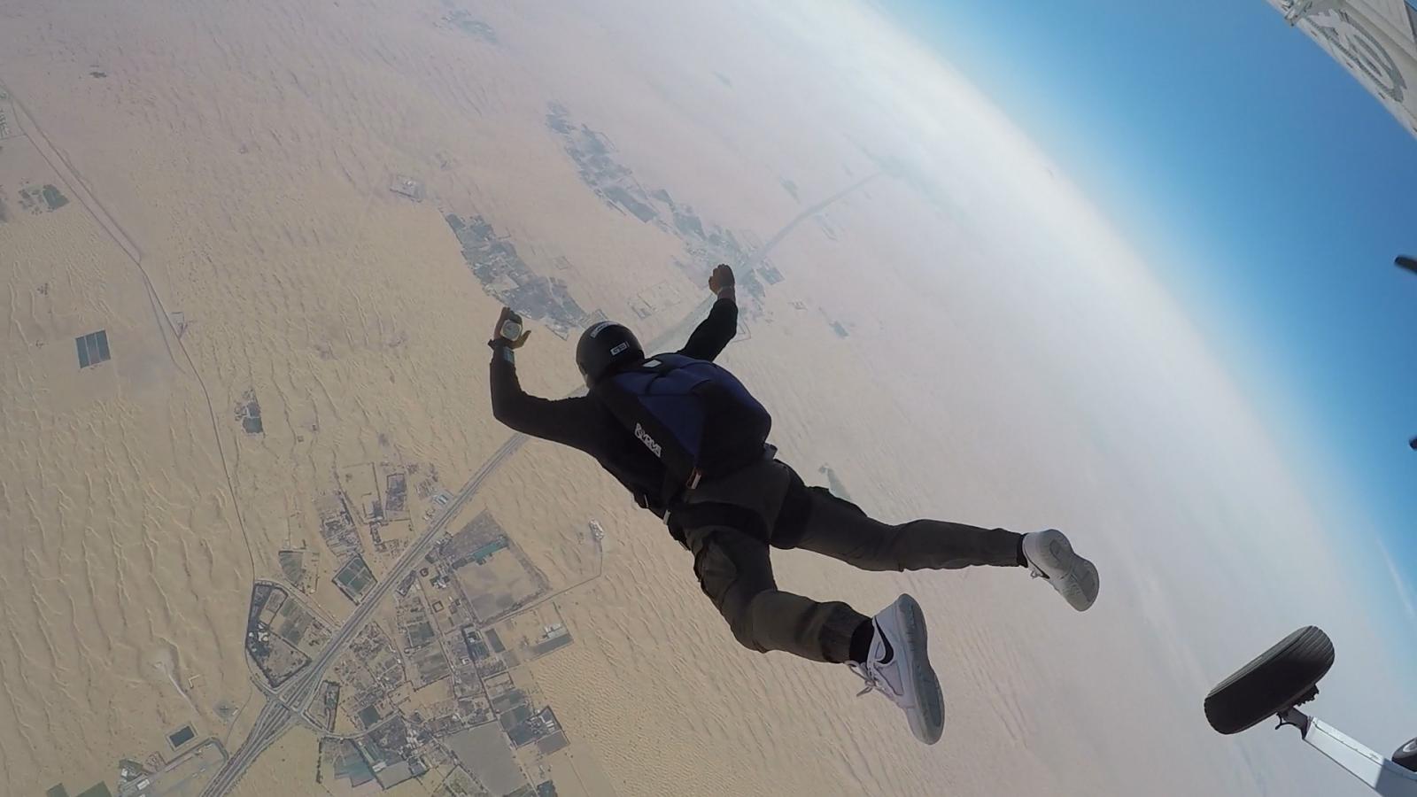 Skydive Dubai Desert Campus 2018