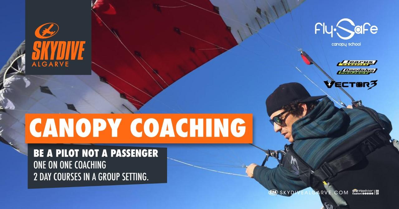 Skydive Algarve Fly Safe Canopy Course